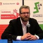 Grzegorz Braun o pogrzebie Łupaszki