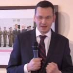 Mateusz Morawiecki w Instytucie im. Lecha Kaczyńskiego