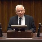 Jarosław Kaczyński w obronie marszałka Kuchcińskiego