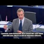 Nigel Farage: Europejska armia