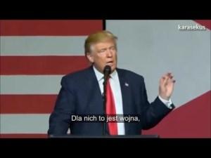 Donald Trump: Clintonowie to kryminaliści