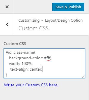 custom-css