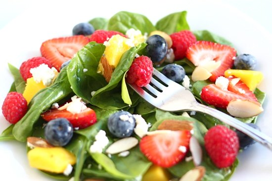 spinach-fruit-salad