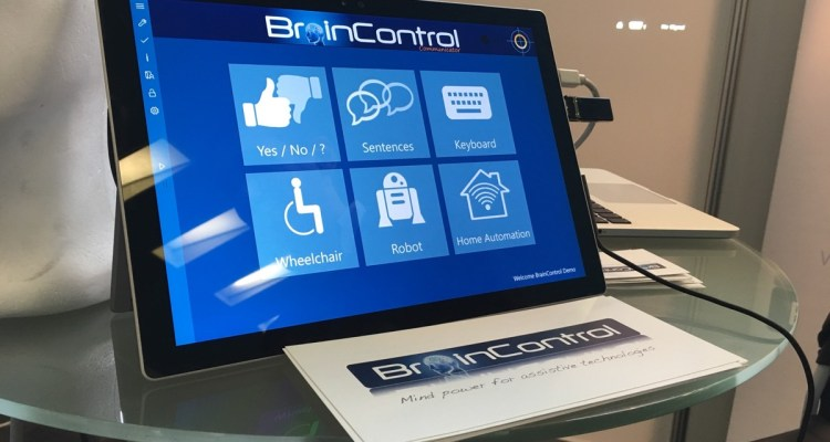 Internet of things BrainControl prototype