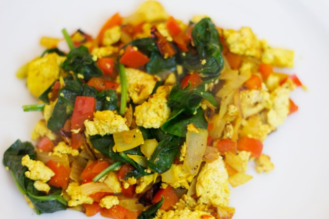 Vegan Breakfast Scramble - Five quick and healthy recipes for doctors
