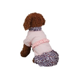 Fantastic Leisure Leopard Pattern Dog Coat Pet Skirt Dog Clos Pattern Tutorial Dog Clos Patterns Crochet