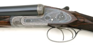 12 gauge Guyot double barrel sidelock shotgun