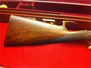 12 gauge Westley Richards Connaught Double Barrel Shotgun