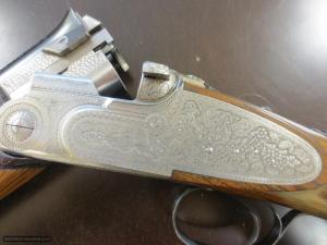 """Beretta SO3. As new condition. 28"""" barrels. 100% factory hand engraving"""