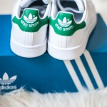 stan smith adidas originals green sneakers