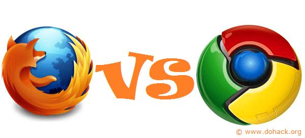 Chrome or Mozilla Firefox