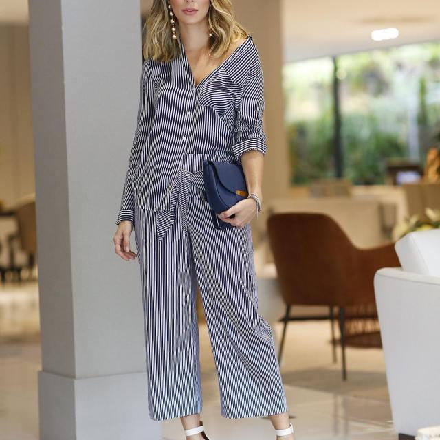 Meu look de hoje pijama style! Vocs curtem? Acho bemhellip