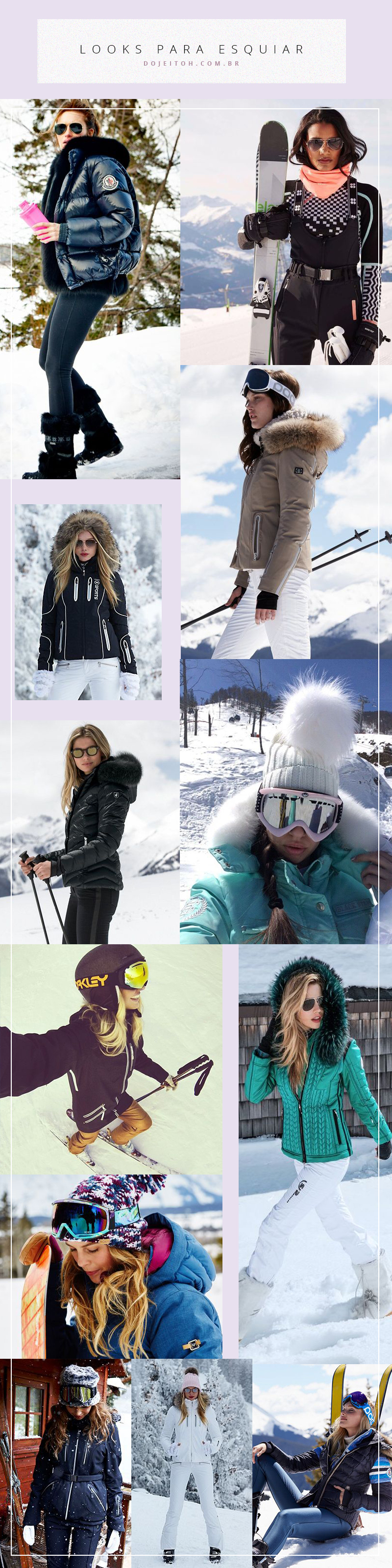 looks para esquiar