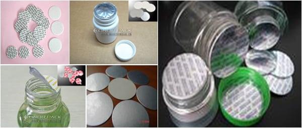 Hasil Seal Cup dari Mesin Sealer Induksi