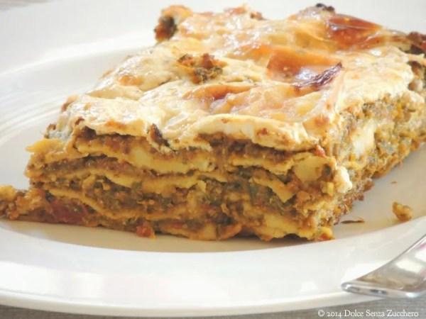Lasagne con Zucchine e Pomodoro (2)
