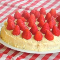 Torta di Fragole e Crema Chantilly