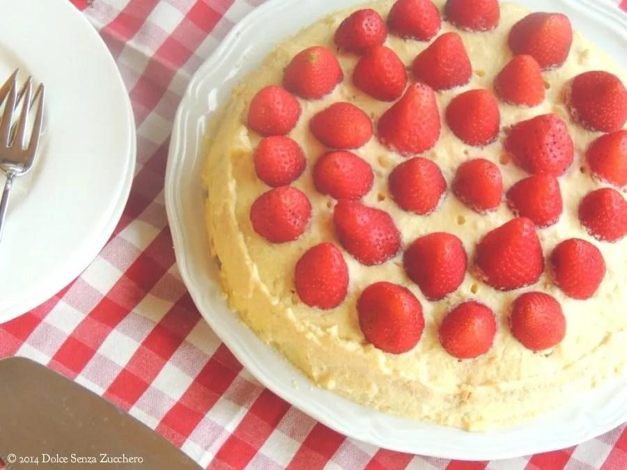 Torta di Fragole e Crema Chantilly (7)