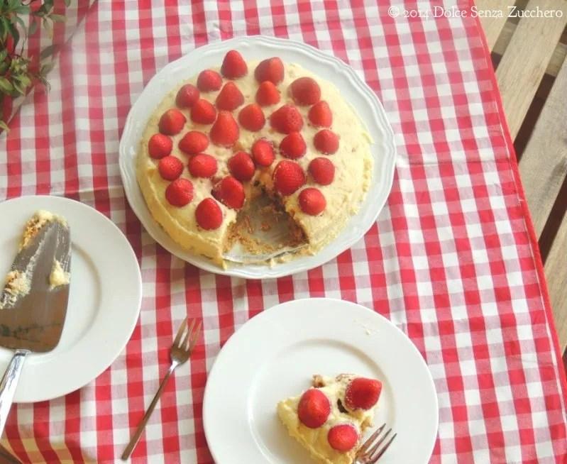 Torta di Fragole e Crema Chantilly (8)