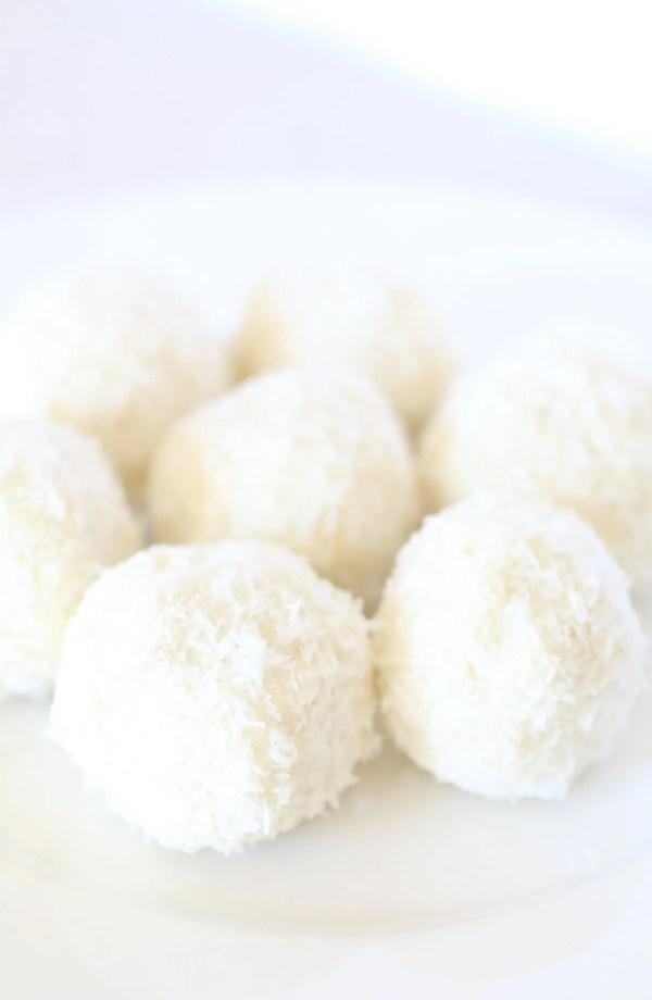 Dolcetti al Cocco Senza Zucchero e Senza Glutine