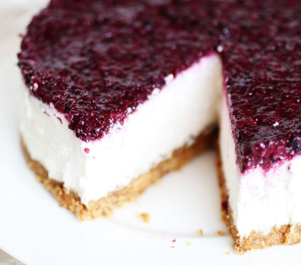 Cheesecake Senza Cottura e Senza Latticini