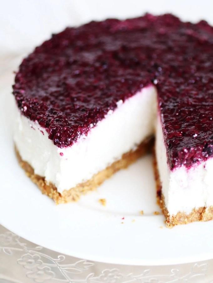 Cheesecake Senza Cottura e Senza Latticini (9)