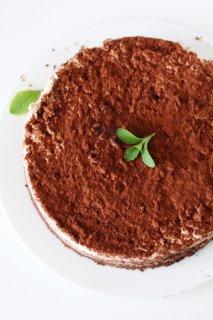 Torta Tiramisù Senza Zucchero e Senza Glutine (Senza Latticini)
