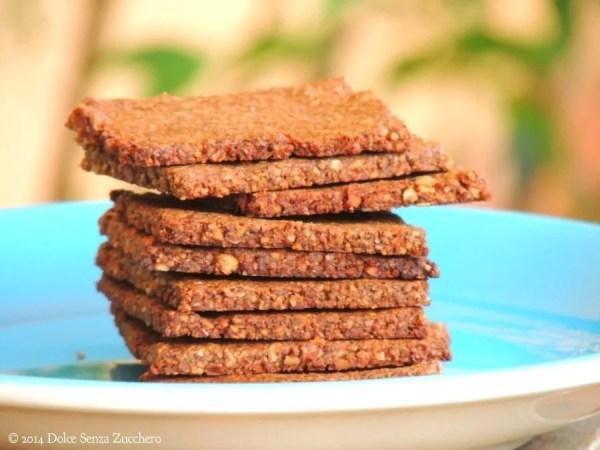 Biscotti secchi mandorle cacao e stevia 1 photo