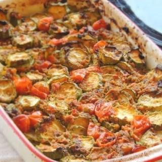 Zucchine con Capperi, Alici, Salvia e Pomodoro_Cover