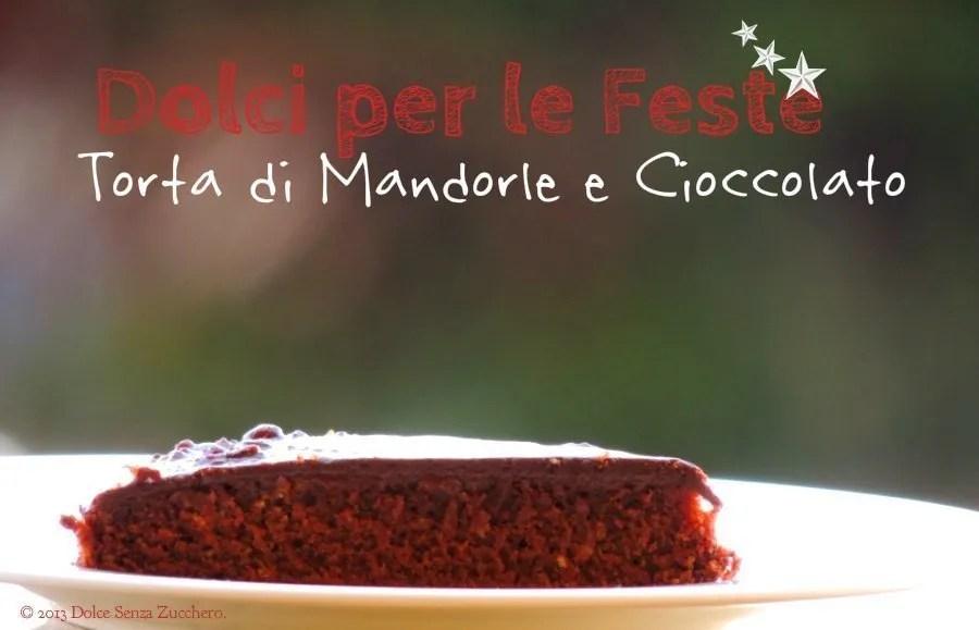 Semplice Torta Mandorle e Cioccolato (1)