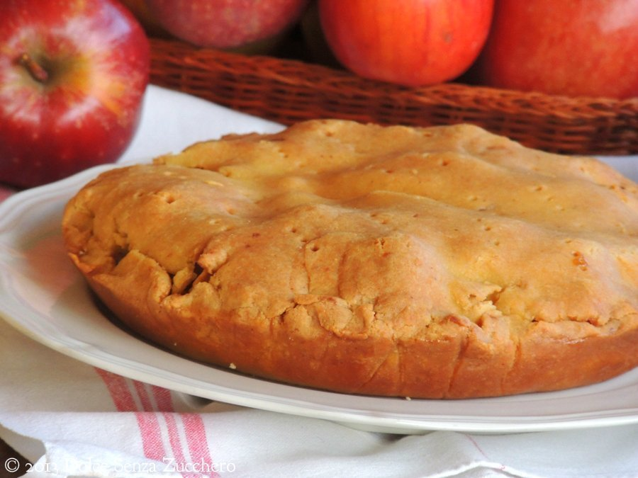 Torta di Mele_Apple Pie_con stevia (2)
