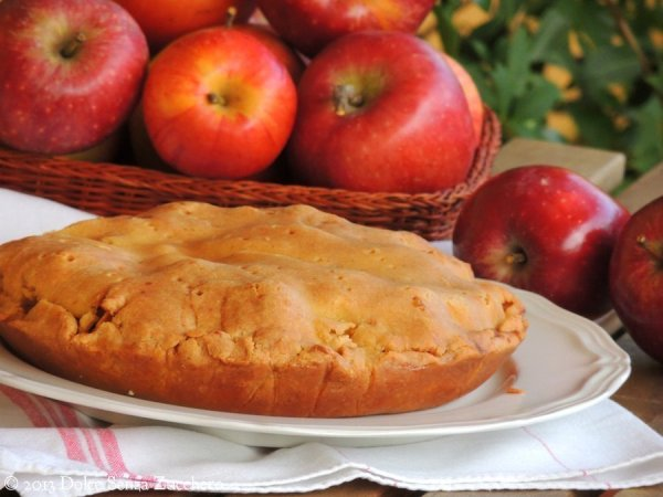 Torta di Mele Apple Pie con stevia 4 photo