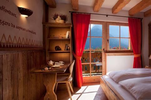 Una camera dello Chalet