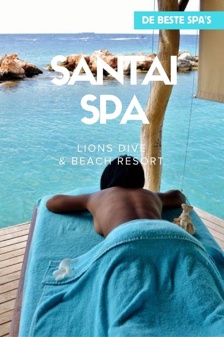 De beste spa's op Curacao - Santai Spa bij Lions Dive Beach Resort