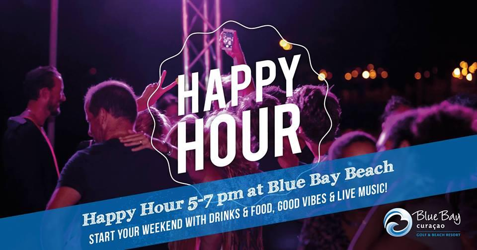 Happy Hour op Blue Bay