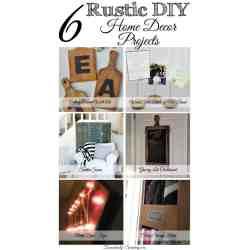 Small Crop Of Diy Rustic Home Decor