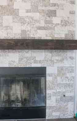 Small Of Faux Stone Fireplace
