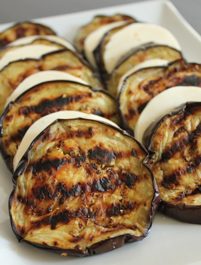 grilled-eggplant-with-mozzarella
