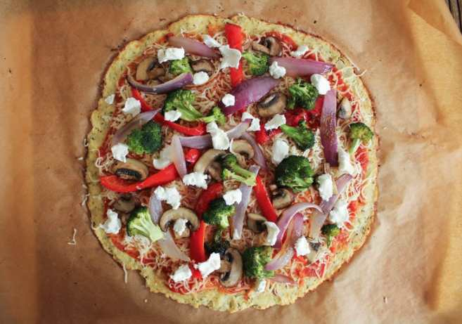 cauliflower-pizza-crust-with-roasted-vegetables-and-goat-cheese-3