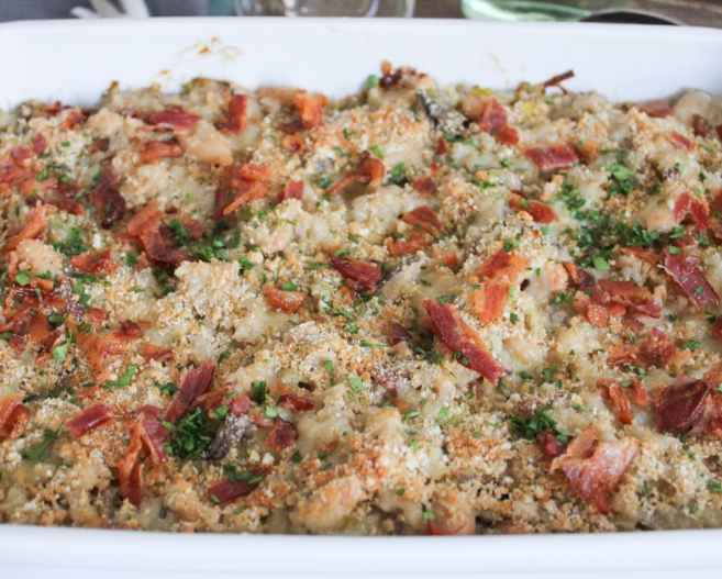 Mushroom-White-Bean-and-Brown-Rice-Casserole-With-Bacon-and-Gruyere-8