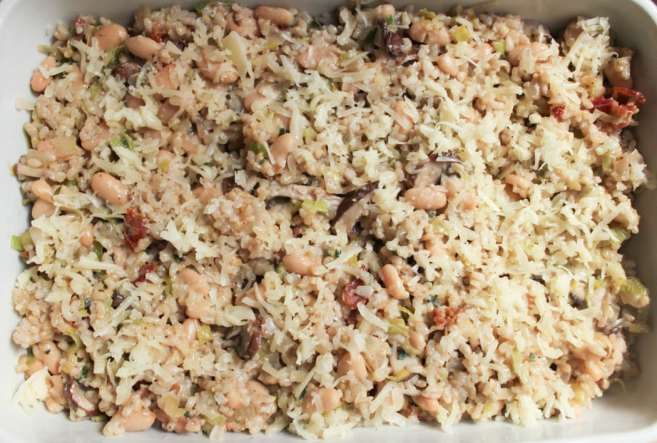 Mushroom-White-Bean-and-Brown-Rice-Casserole-With-Bacon-and-Gruyere-step-9