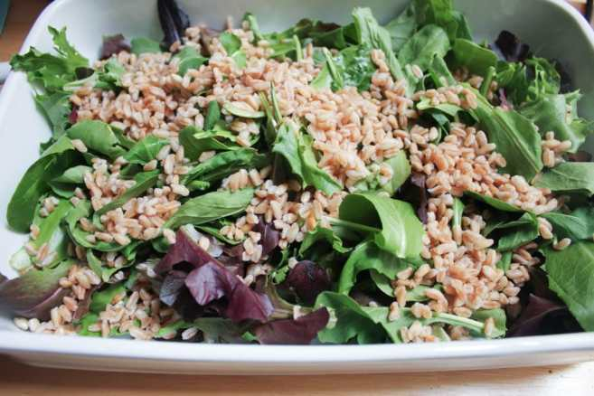 Vegan-Shaved-Vegetable-Salad-with-Farro-and-Maple-Roasted-Pecans-step-6