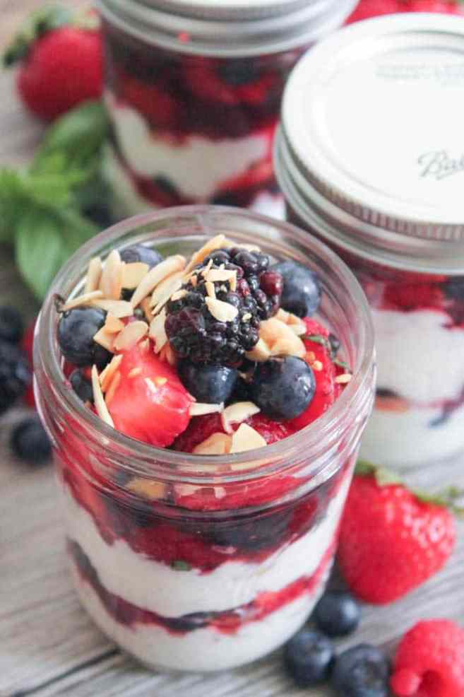 Summer-Berry-Parfaits-with-Vanilla-Bean-Ricotta-and-Toasted-Almonds-5