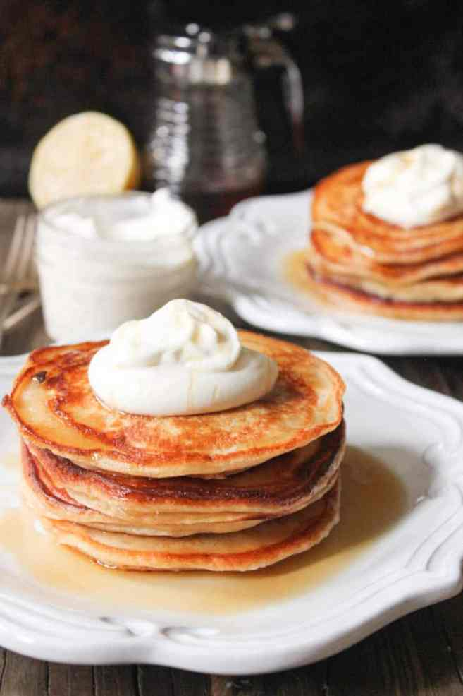 Cinnamon-Ricotta-Pancakes-with-Maple-Bourbon-Whipped-Cream-11