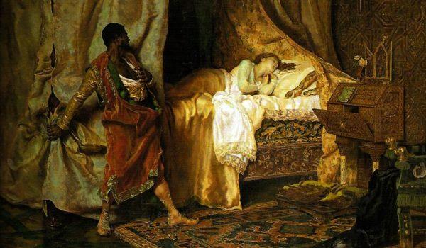 Othello and Desdemona