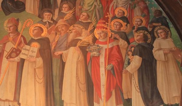 DHS saints mural