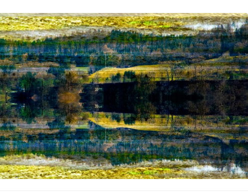 As Above So Below photo on canvas