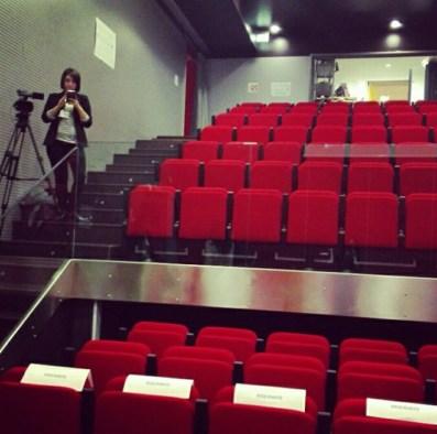 la Mediateca di Cava de' Tirreni che ha ospitato il corso Giornalisti e Social Media