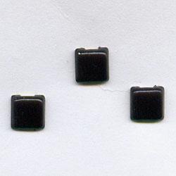 "Black 1/8"" Mini Squares -- Paper Fasteners -- 100 Pack"