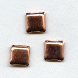 "Antique Bronze 1/4"" Square -- Paper Fasteners -- 50 Pack"