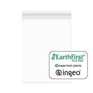 "Eco Clear Peel & Seal Bag -- 9 7/16"" x 12 1/4"" -- 100 Pack"